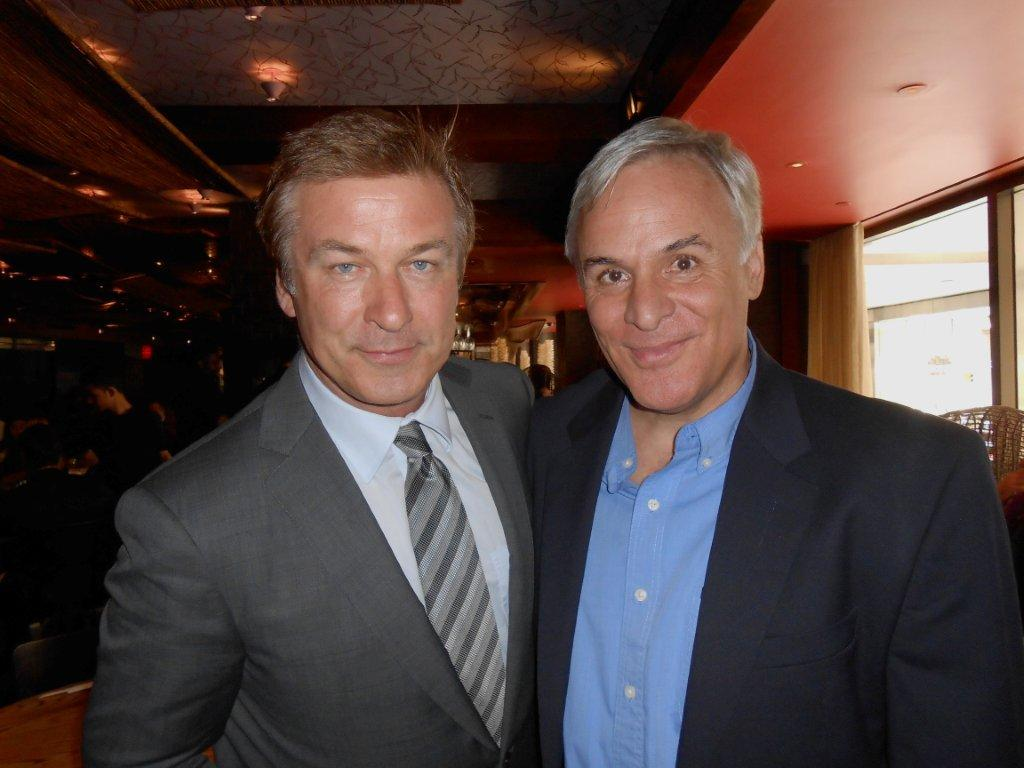 Joseph Mangano and RPHP supporter Alec Baldwin